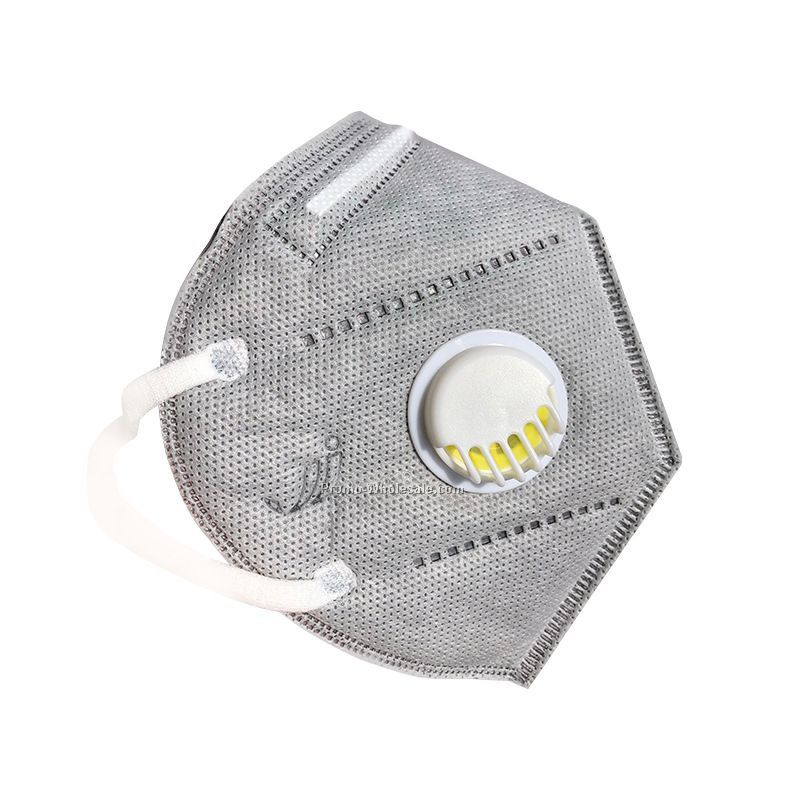 Anti Virus KN95 N95 Filter Face Mask Respirator Mask With Breathing Valve