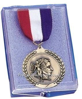 "Medal Presentation Box -plastic 2-3/4"" X 4"""