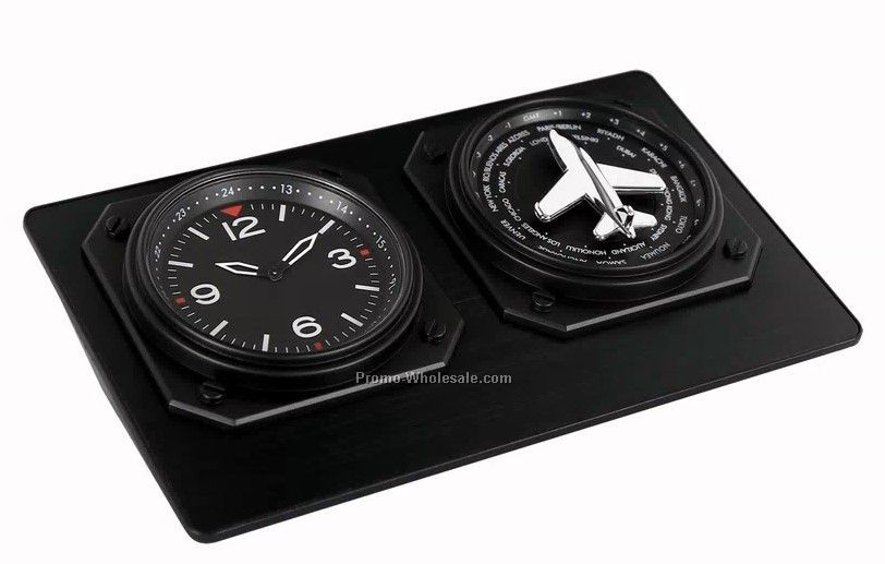 Pinpoint World Time Clock