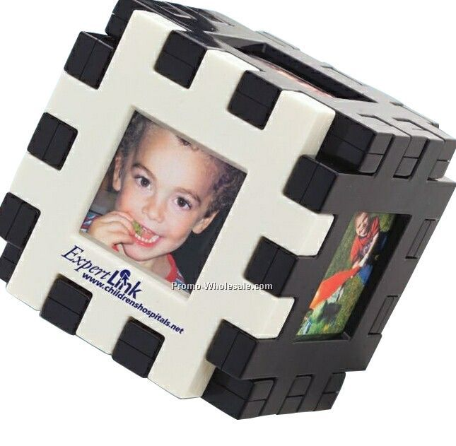 Puzzle Cube Photo Frame