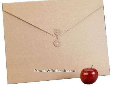 """Recycled Ecoboard String Tied Envelope - 16-5/8""""x12-5/8""""x1/2"""""""