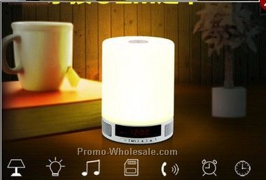 New products 2016 desk lamp bluetooth speaker