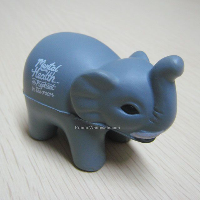 Fun elephant pu stress ball ,PU toy