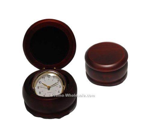 Swivil Wooden Clock - Screened