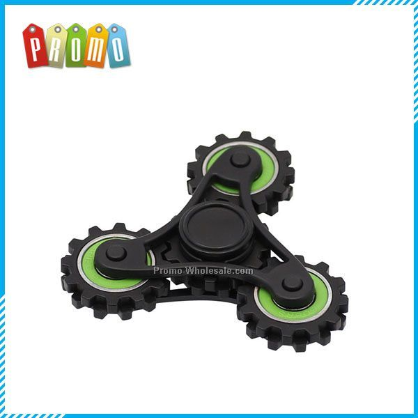 Gear Shape Hand Spinner Toy Finger Gyro 3-5 mins