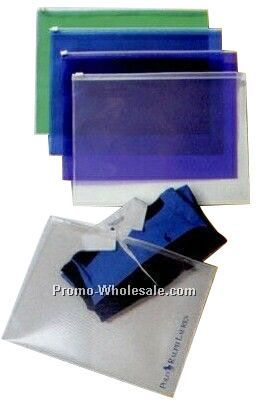 Translucent Poly Zip Envelope (Unimprinted)
