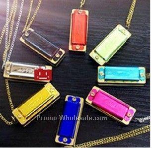 Hohner Mini Harmonica Necklace (Blank)