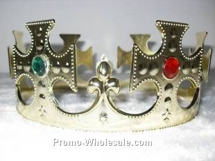 Gold Foil Crowns (Adjustable)
