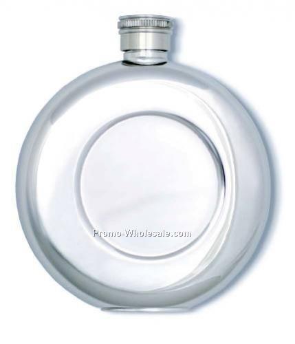 Round Pocket Flask