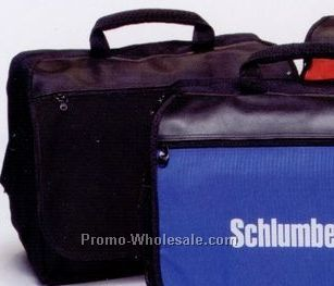 """16""""x13""""x6"""" Black Midway Computer Briefcases /Blank"""