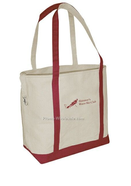 "18""x13""x6"" Small Accent Boat Tote Bag"