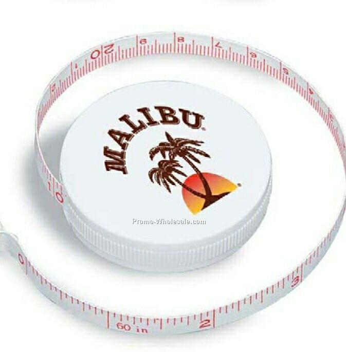 "2"" Snap-a-matic Tape Measure (1 Day Rush)"