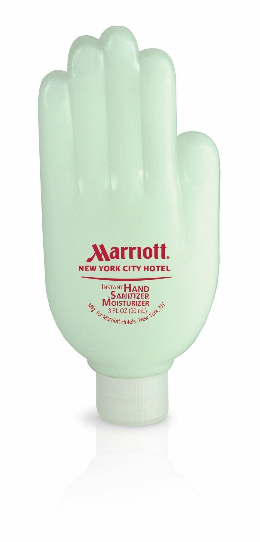 3 Oz. Instant Hand Sanitizer Moisturizer In Hand Bottle