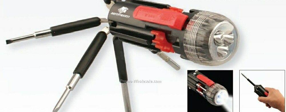 8-in-1 Screwdriver Flashlight