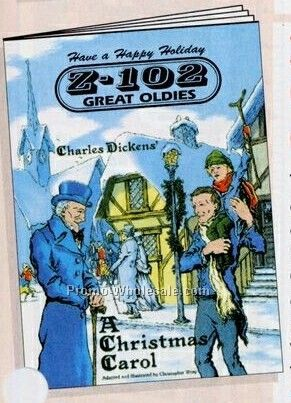 "8""x10-5/8"" 16 Page Coloring & Fun Book (Dickens' Christmas Carol)"