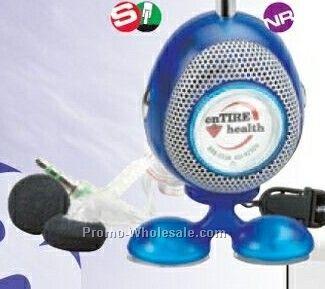 Bubble FM Radio W/ Speaker