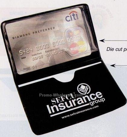Card Case W/ Die Cut Pockets