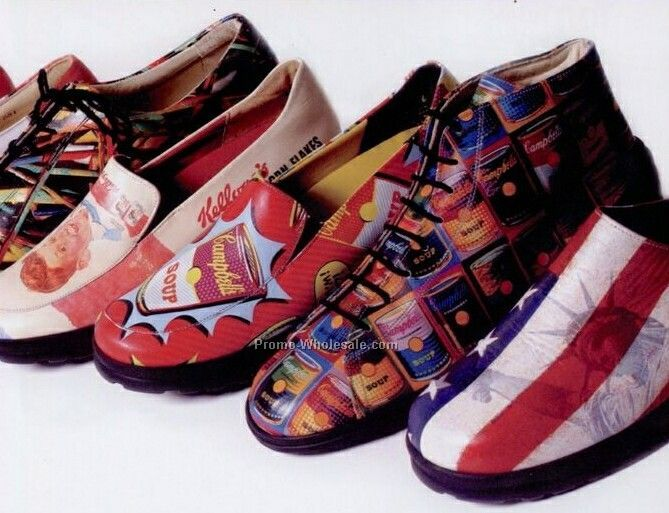 Custom Printed Leather Shoes