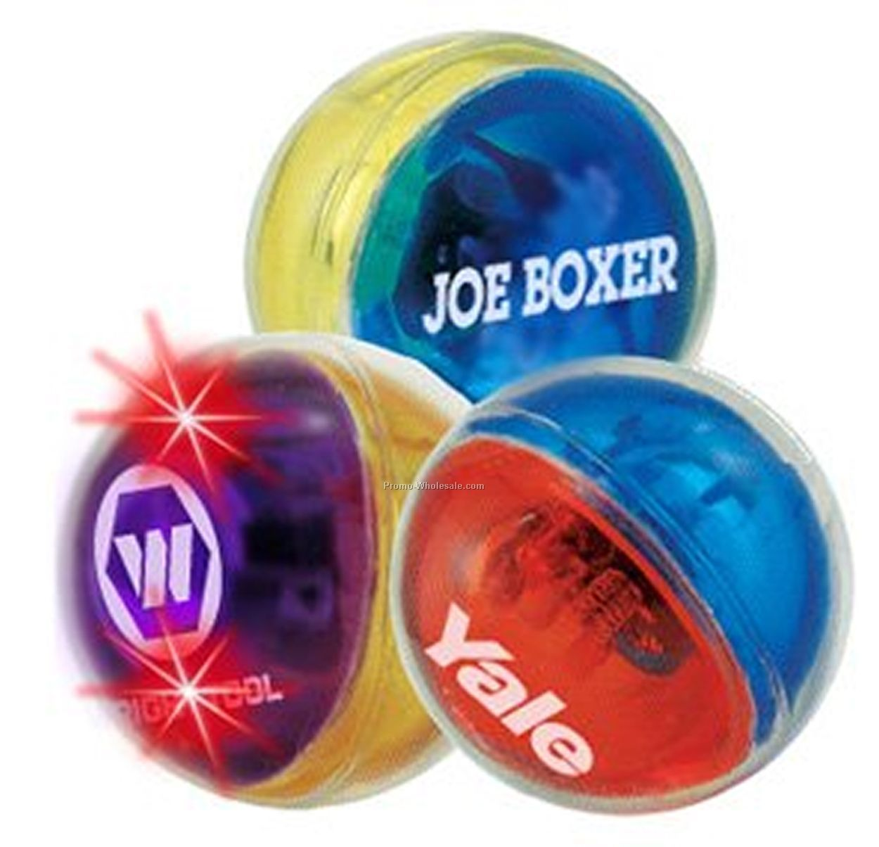 LED Ball - 2 Tone - Exterior - Red/ Blue