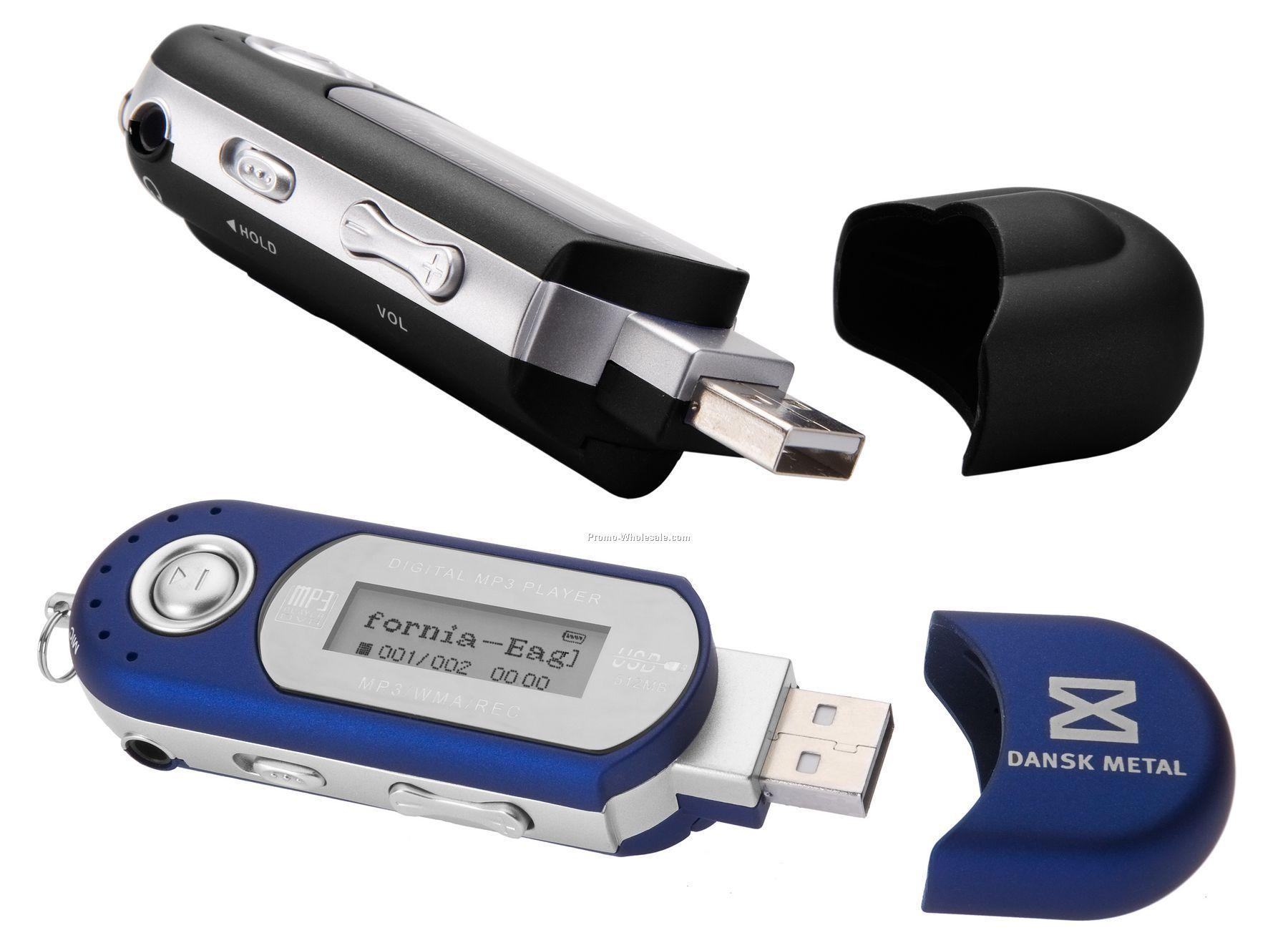 Limbo Mp3 Player & USB Flash Drive - 2 Gb