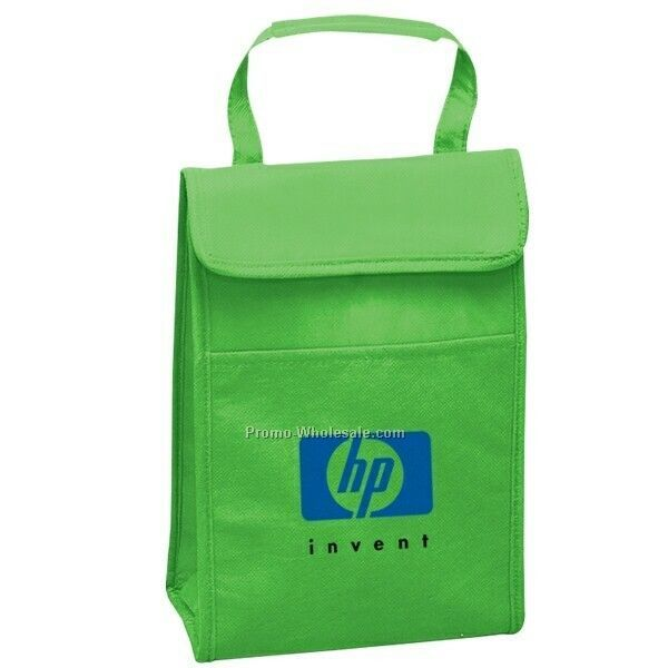"Non Woven Insulated Lunch Cooler - 7-1/8""x10""x3-1/2"" (Blank)"