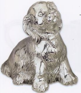 Reed & Barton Children's Silverplated Music Box Collection/ Puppy