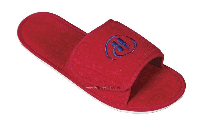 Terry Velour Slippers - S-xl (Blank)