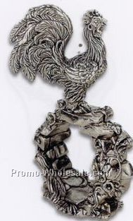 The 1824 Collection Silverplated Rooster Napkin Ring