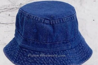 Vacationer Denim Hat (Domestic Embroidery)