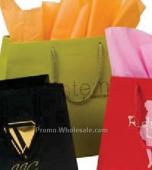 "12-1/2""x16""x5-1/4""x11"" Trapezoid Matte Euro Shopping Bags"