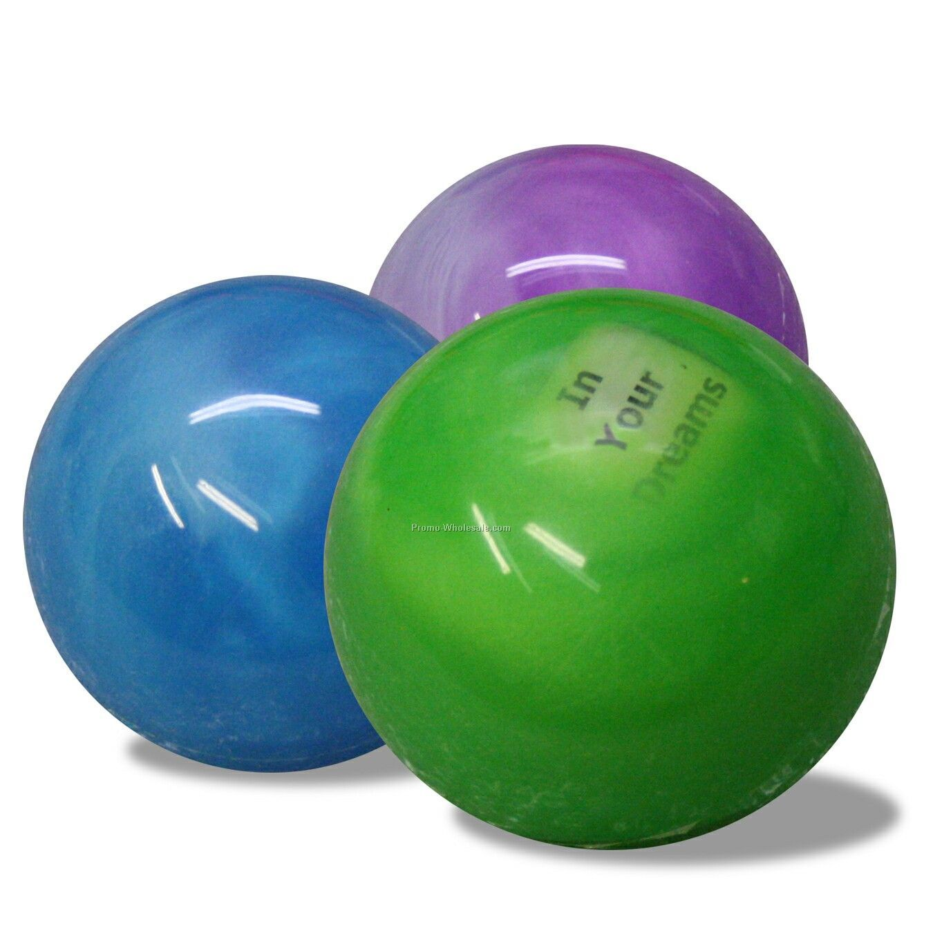 """2-3/4"""" Hi-bounce Fortune Water Ball"""