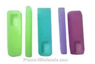 "3.7""x1.06""x.04"" Silicone Ipod Shuffle Cover"