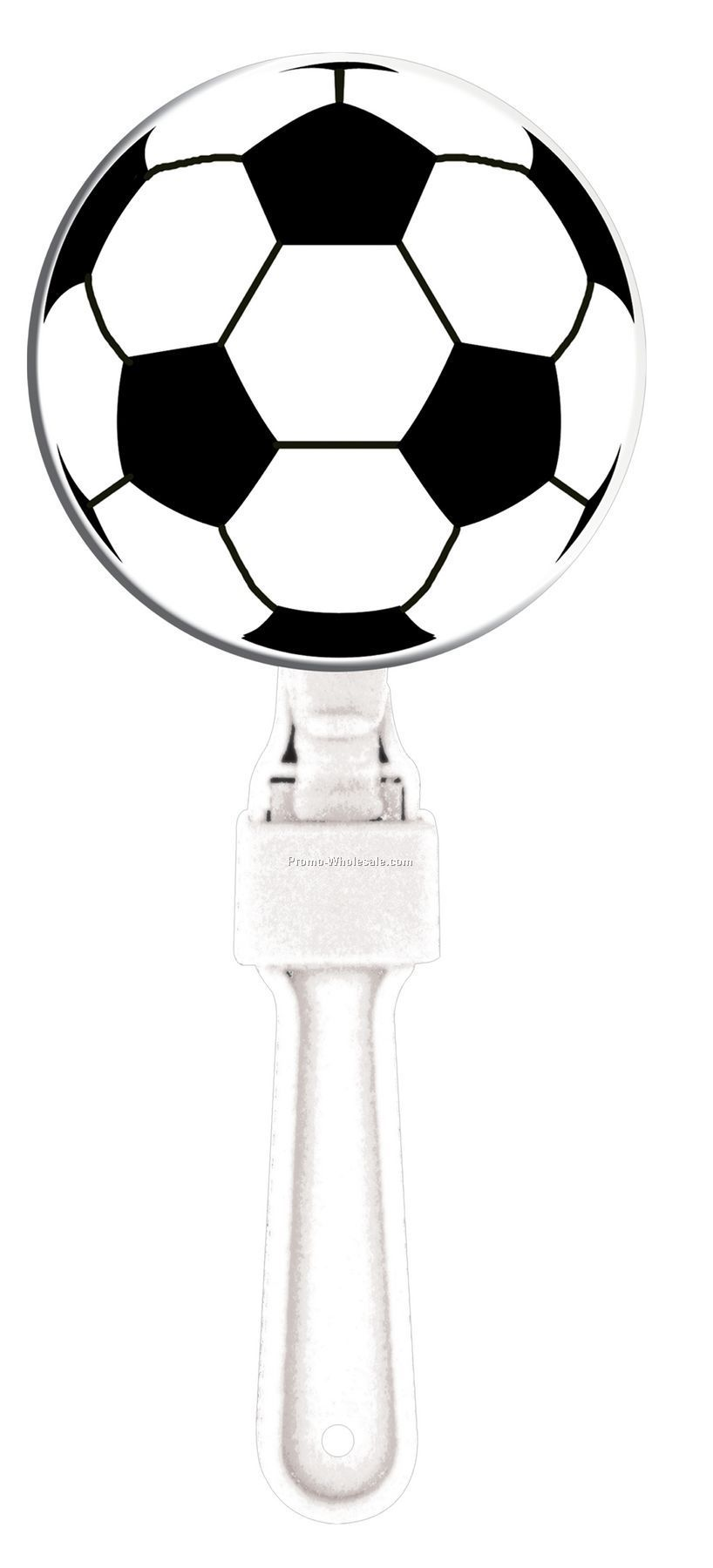 "7"" Sport Clappers - Soccer Ball"