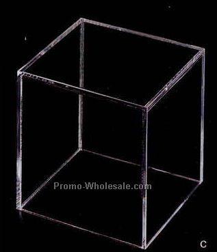 "Acrylic Rectangle Display Box - 12""x8""x8"" (Not Shown)"