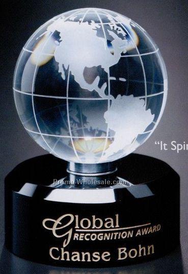 """Awards In Motion Globe 4-3/4"""""""