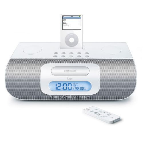 Bluepin Audio System With Dual Alarm