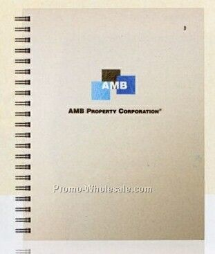 "Cover Series 1 - Large Notebook 8-1/2""x11"", 100 Sheets Recycled Filler"