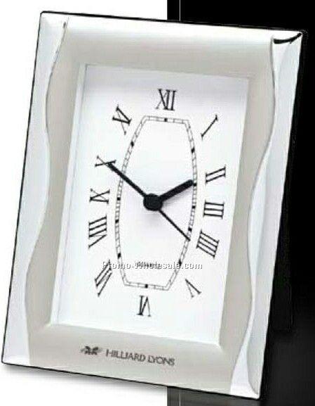 """Essentials Jadis II Framed Clock 5""""x6-1/2"""""""
