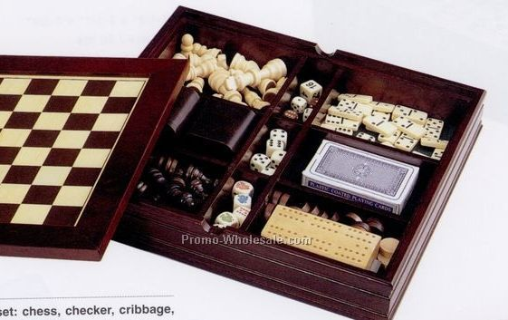 Executive 7-in-1 Game Set