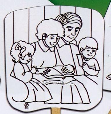 Family Prayer U-color Fans
