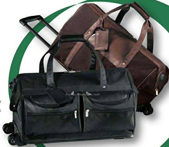 Leather/ Nylon Metro Cabin On Wheels