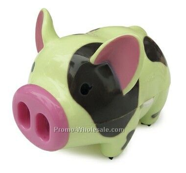 Mini Desktop Vacuum Cleaner- Pig. Cleans The Keyboard Of The Computer And D