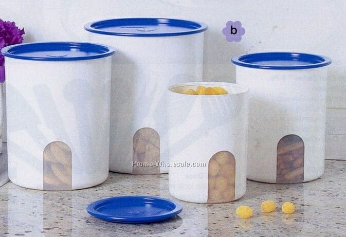 One Touch Reminder Canister Set (Brilliant Blue)