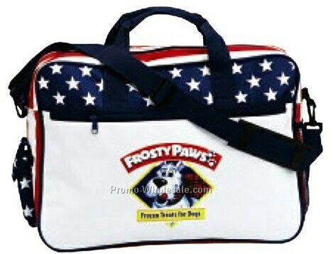 Patriotic/Election Campaign/Stars & Stripes Briefcase