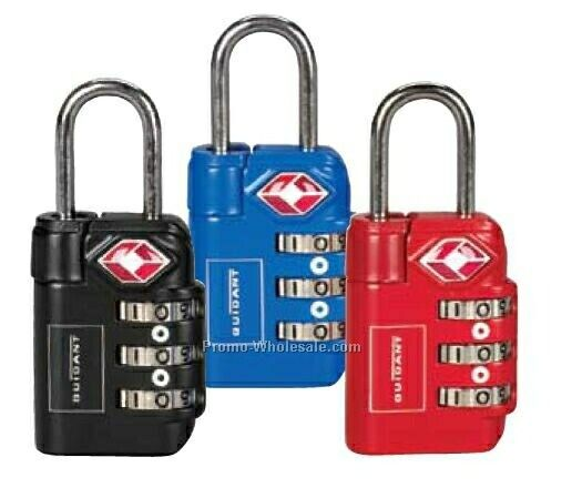 Soren 3-dial Travel Sentry Approved Luggage Lock (Blue)