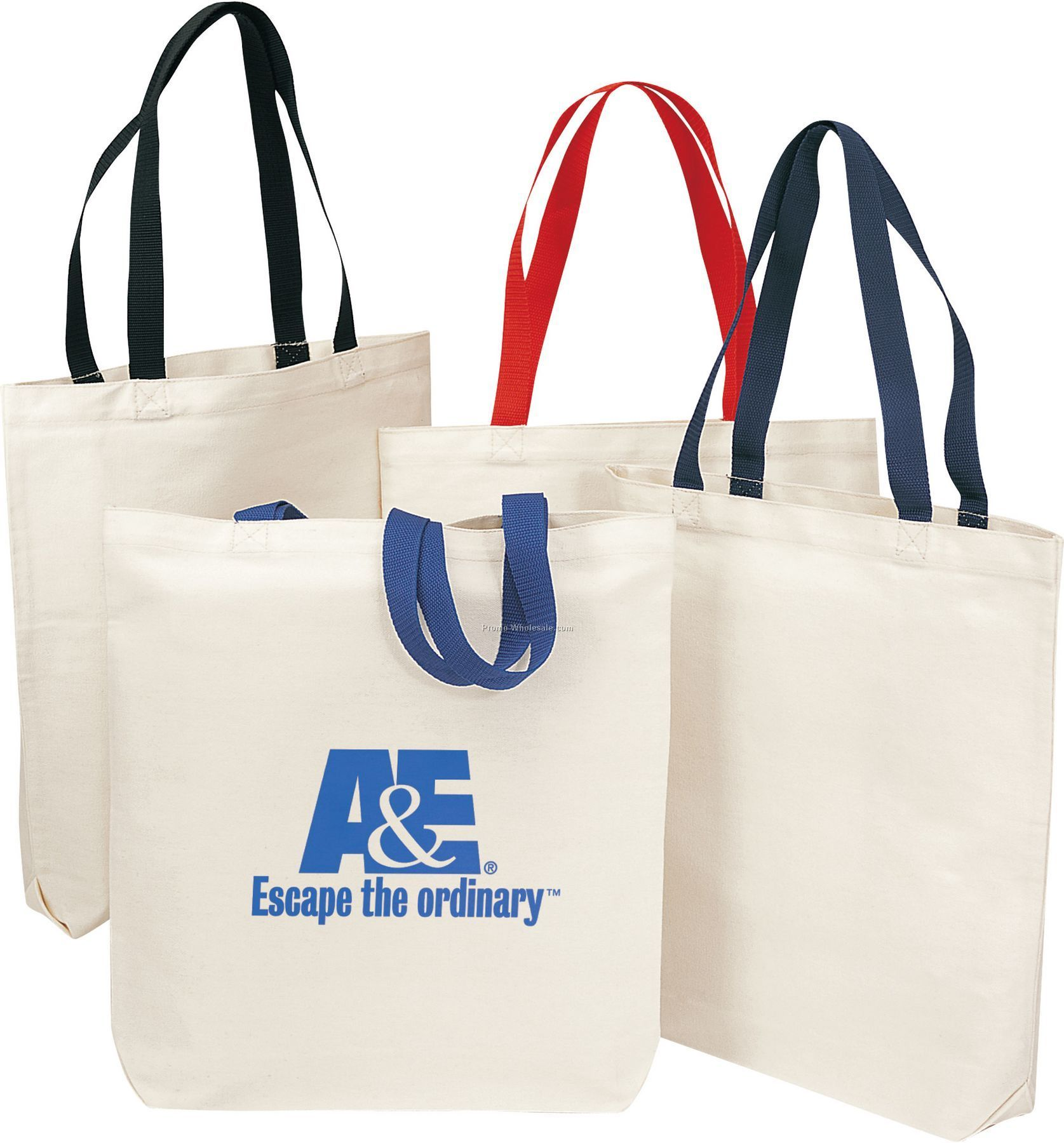 Two Tone Economy Tote Bag
