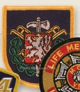 "4"" Embroidered Emblems"