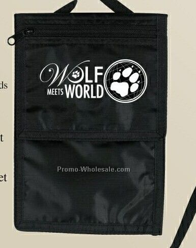 """8""""x5-1/4"""" Travel Credential Holder - 3 Day"""