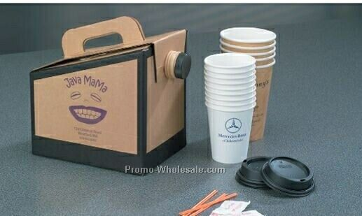 96 Oz. Beverage On The Move Drink Container (Ink Imprinted)