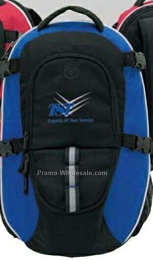 "Arcadius Blue Backpack 11""x17""x7"""